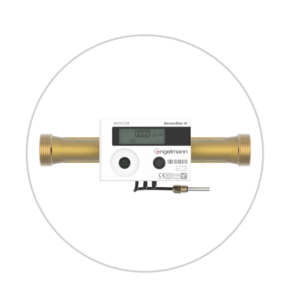 Ultrazvočni merilniki ogrevanja Engelmann