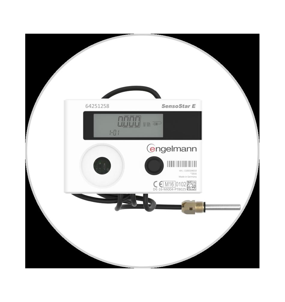 Turbinski merilniki ogrevanja Engelmann
